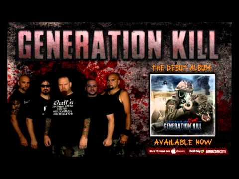 GENERATION KILL , DEBUT ALBUM - RED WHITE and BLOOD