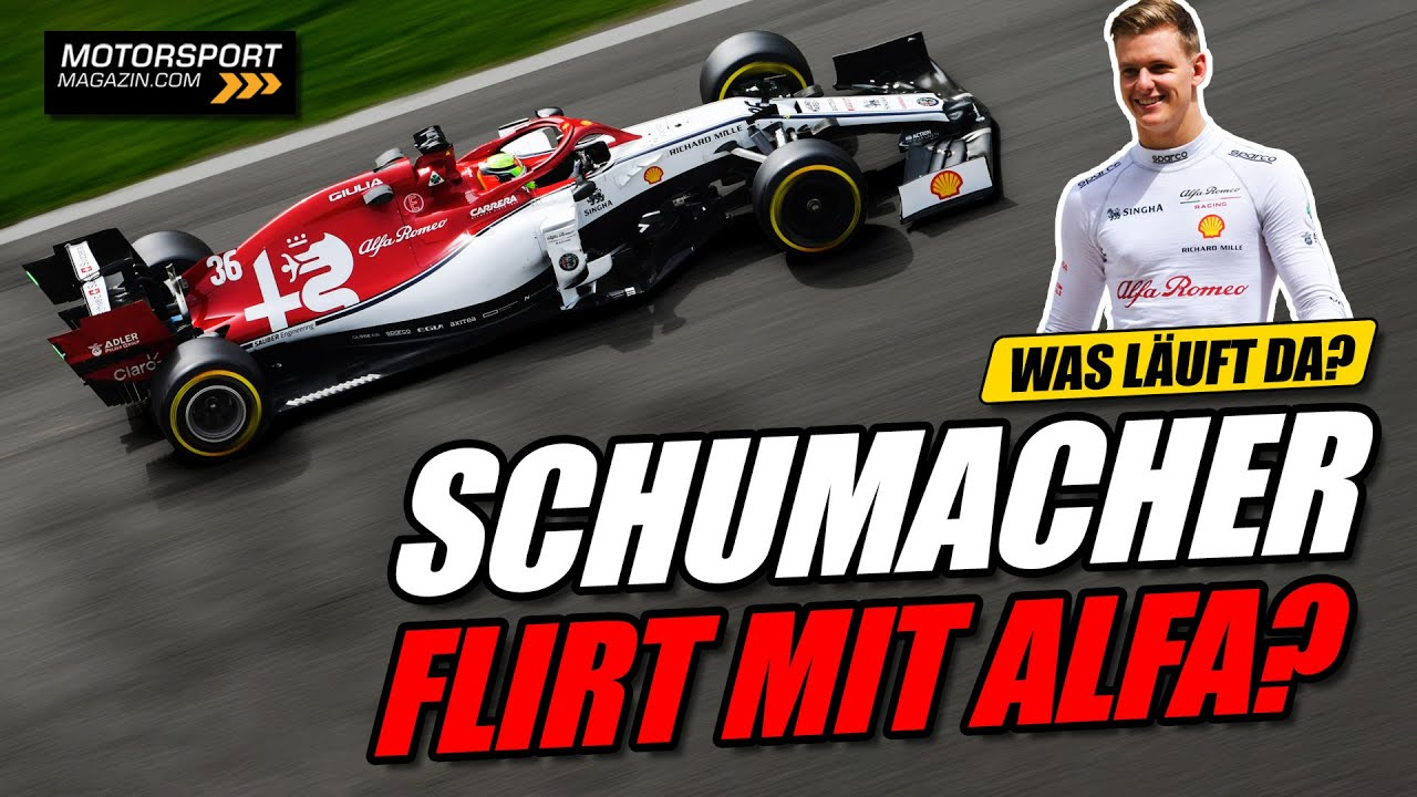 Download Wechselt Mick Schumacher zu Alfa Romeo?   Formel 1 2021