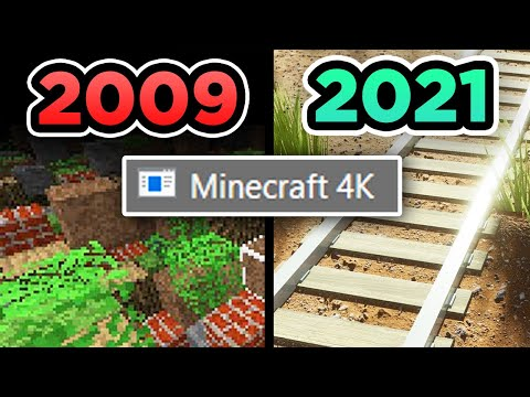 ✅ Existió un Minecraft 4K OCULTO!!! ¿Qué es? - Bobicraft