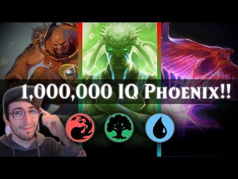 1,000,000 IQ PHOENIX - TEMUR + ARCLIGHT + CLOVER = ITS OVER!!! - THEROS STANDARD [MTG ARENA]