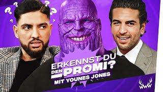 Erkennst DU den Promi? (mit Younes Jones)