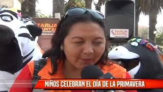 NIÑOS CELEBRAN EL DIA DE LA PRIMAVERA