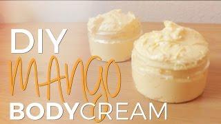 DIY: Perfect FLUFFY Tropical Mango Body Butter Souffle