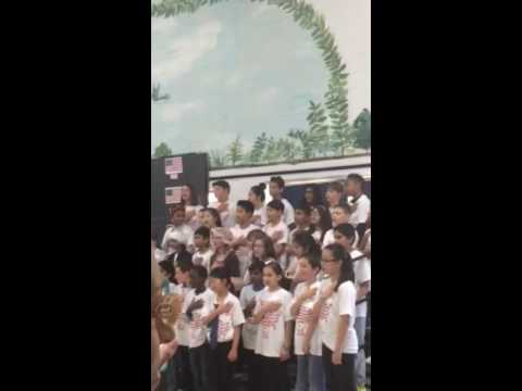 5th grades  musical beginning. Winkelman Elementary school