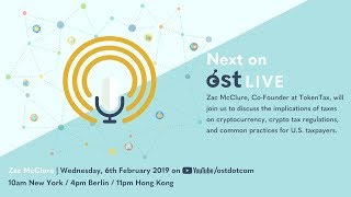 OST LIVE #065: Crypto Tax Best Practices in 2019
