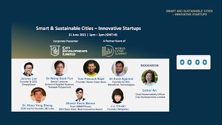 Smart & Sustainable Cities – Innovative Startups | By CDL (feat. Dr Khoo Yong Sheng & more)