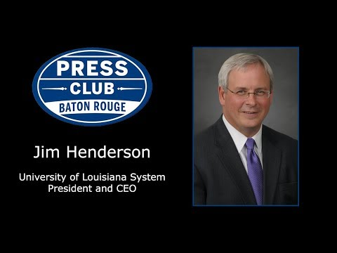 10/09/17 - Jim Henderson, University of Louisiana System
