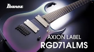 Ibanez Axion Label RGD71ALMS Electric Guitar featuring TT Kao 高孟淵