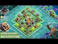 NEW Builder Hall 5 BH5 Anti 1 Star Base 2018  Anti GiantAir Troops   Clash of Clans