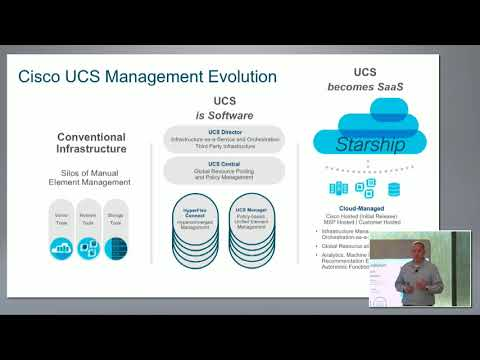 Cisco Intersight Overview on Managing UCS and HyperFlex