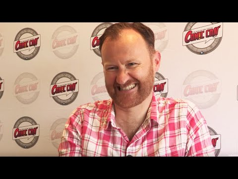Gatiss 'I had to absolutely shrug off my anorak'