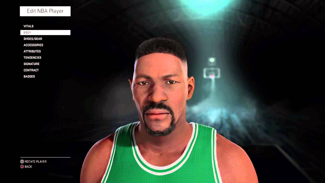 NBA 2K16 Bill Russell Young
