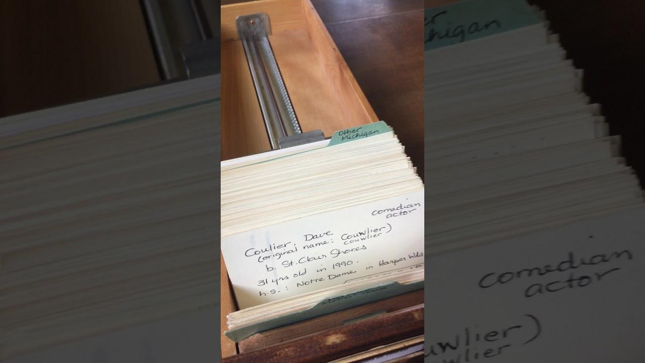 Card catalog - Detroit Public Library