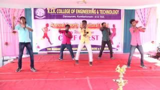 Ksk college dance performance mechanical boys