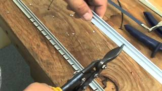 Mounting Horizontal Aluminum Curtain Track