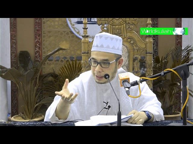 SS Dato Dr Asri-Apakah Perlu Berturutan Dlm Mengambil Wudhu