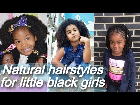cute-natural-💐-hairstyles-for-little-black-girls