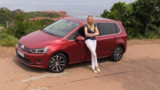 2014 Volkswagen Golf Sportsvan VW Golf SV test drive review of the Golf Plus successor