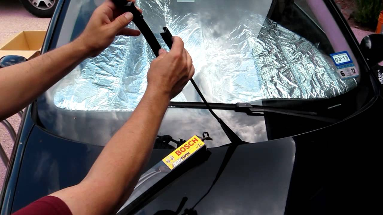 How To Change Replace Windshield Wiper Blades For