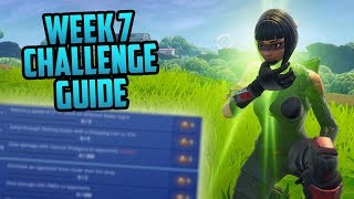 Season 6, Week 7 | Fortnite Week 7 Challenges Easy Guide (Week 7 Battle Pass) - Fortnite