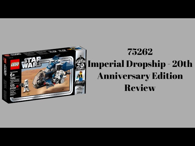 75262 Imperial Dropship - 20th Anniversary Edition Review  | Steinfreind2014
