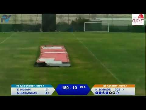 Its Just Cricket Vs ICC Academy ECB 11.10.2019