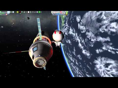 KSP STEM | Fusion Powered Space Station Build Up for Tesla Coil #7
