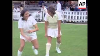 Princess Anne - World Cricket - In Colour - No Sound - 1973