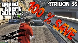 GTA V PC 100% Save Game All Unlocked