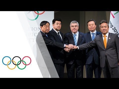 North and South Korean Olympic Participation Meeting