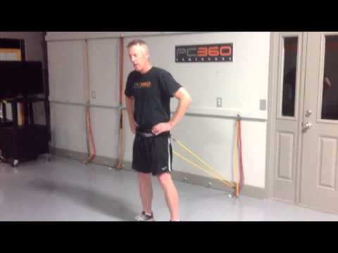 How to Reduce Back Pain for Golf Swing – Exercise #3 (Assisted Pelvic Stability Standing)