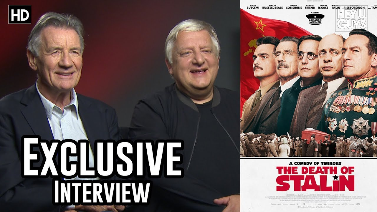 Michael Palin & Simon Russell Beale Exclusive | The Death of Stalin  Interview - YouTube
