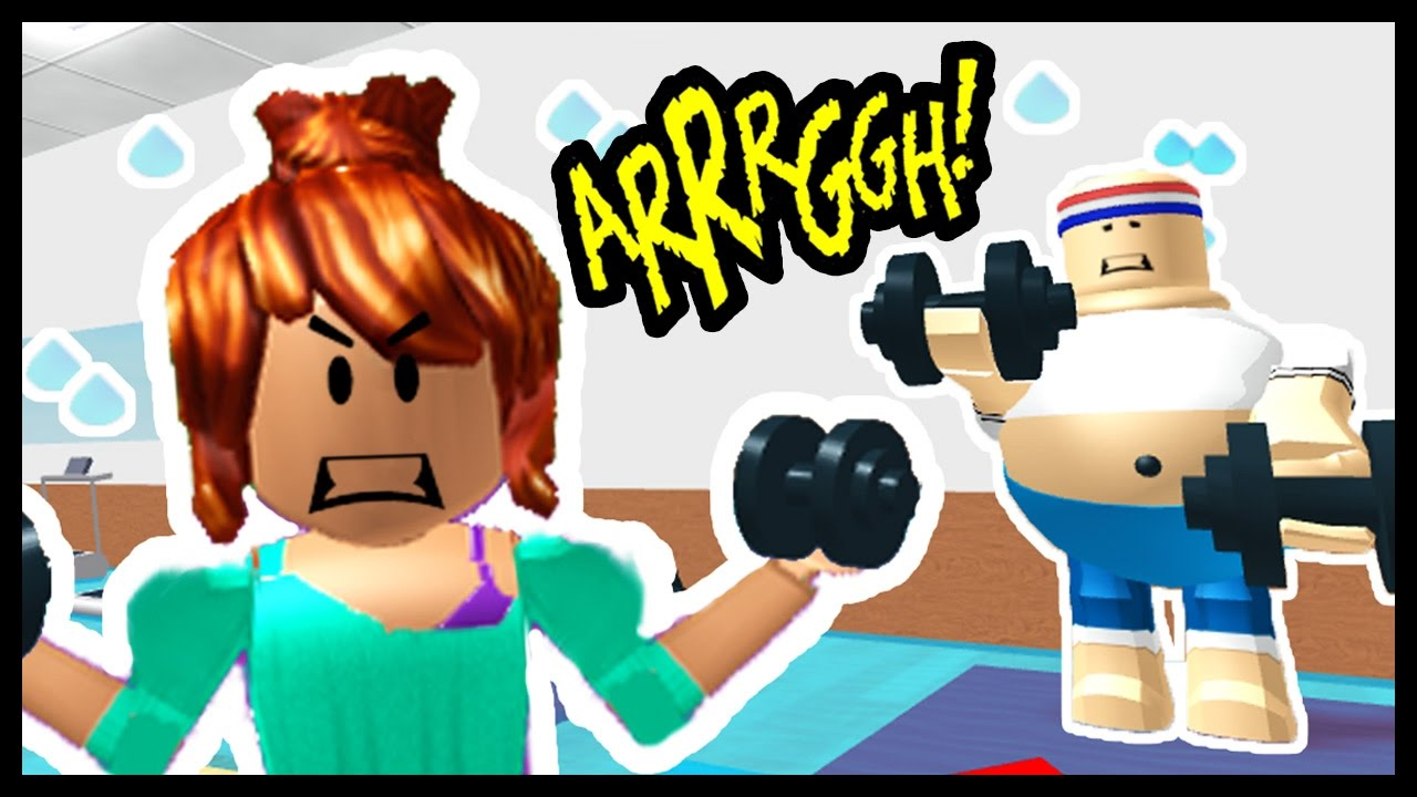 Escape The Gym Roblox Obby Youtube
