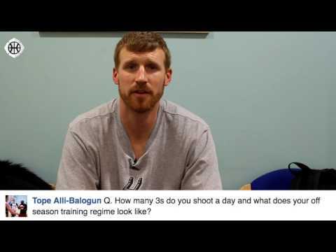 Matt Bonner on Most Inspiring Moment, Three Point Shooting, & More! Hoopsfix Fan Q & A!