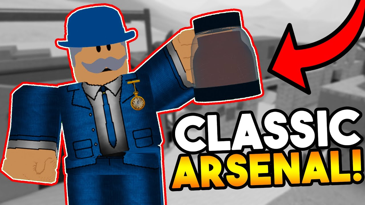 playing the first version of arsenal roblox
