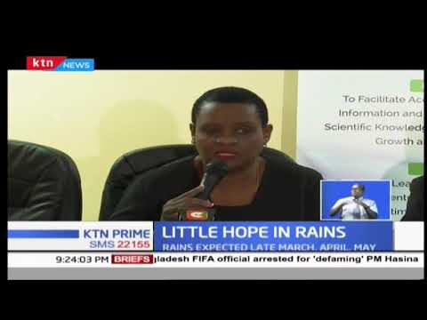 Kenyan Weatherman warns most parts of Kenya will experience poor distribution of rainfall