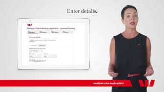 Westpac - Online banking. Getting started 60s