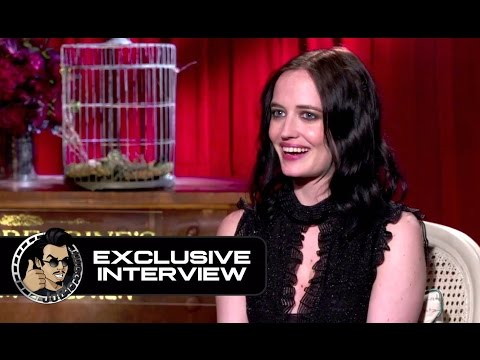 """Eva Green Exclusive INTERVIEW for """"Miss Peregrine's Home for Peculiar Children"""" (JoBlo.com)"""