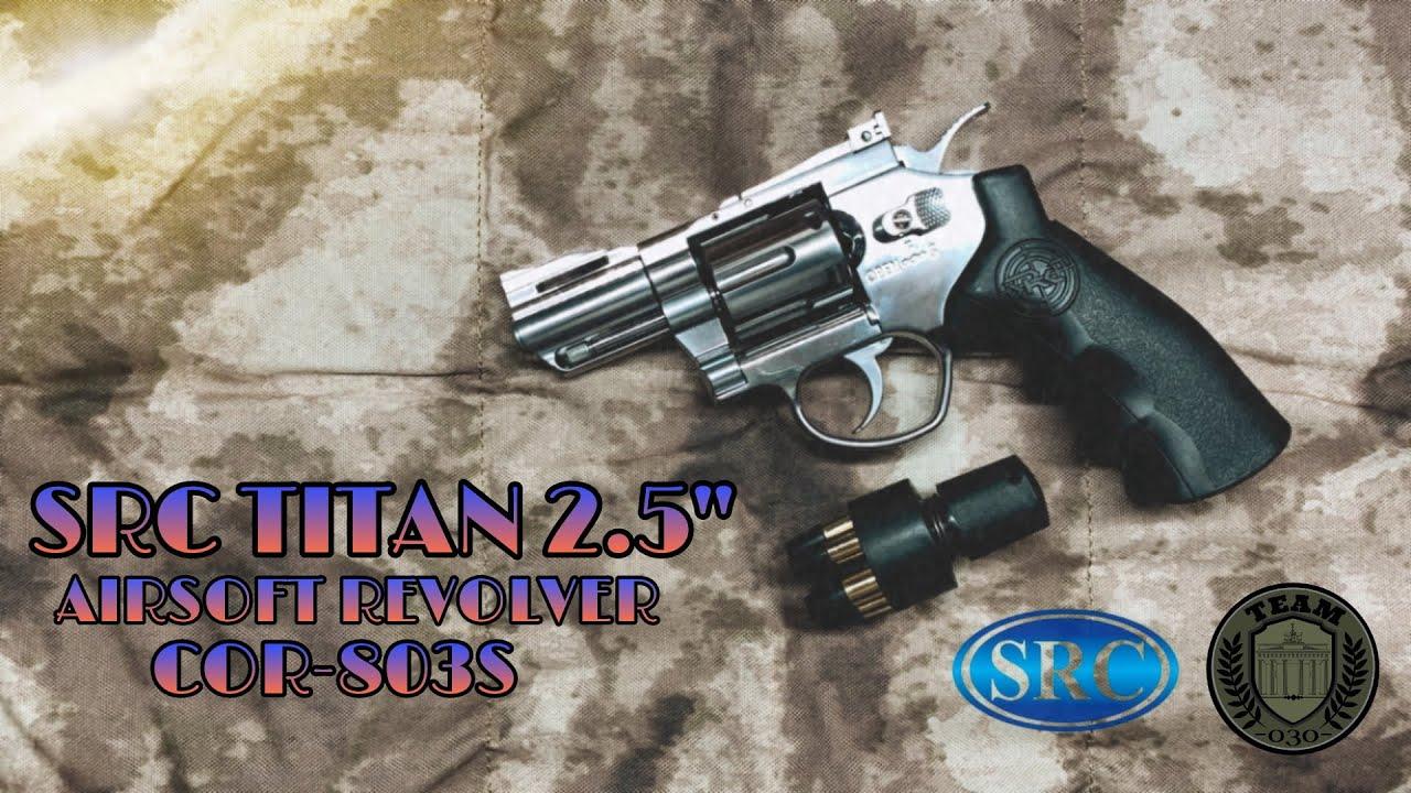 SRC TITAN 2.5' CO2 Airsoft Revolver