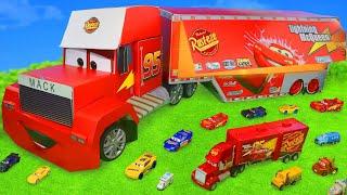 Traktör, Arabalar ve Ekskavatör Çocuk Oyuncakları - Disney Cars Lightning McQueen Toys for Kids