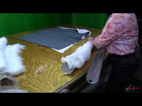 Upholstering A Channel Back Chair  Part 3