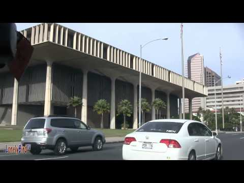 Driving By Hawaii State Capitol Building