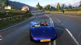 Forza Horizon 4 - Jaguar C-Type 1953 - Open World Free Roam Gameplay (HD) [1080p60FPS]