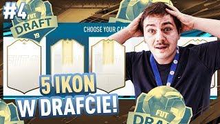 DRAFT 5 IKON!! 2x WALKOUT! PIĘKNA HISTORIA! #4 MISTRZOWSKI DRAFT FIFA 19 | JUNAJTED