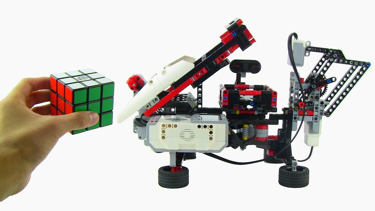 lego mindstorms ev3 rubik 39 s cube solver youtube. Black Bedroom Furniture Sets. Home Design Ideas