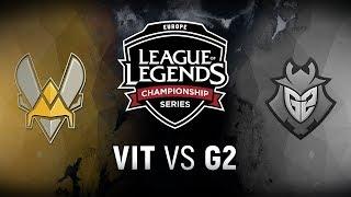 VIT vs. G2  - Week 5 Day 1 | EU LCS Spring Split |  Team Vitality vs. ...