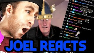 Joel (and Twitch) React to my animation.