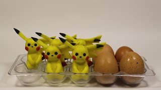 Cooking pokemon by PES (stopmotion, claymotion) How to cook a pokemon