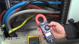 Strømmåling i 230/400V anlegg