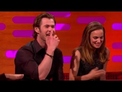 Natalie Portman and Chris Hemsworth  The Graham Norton  2013.